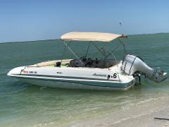 HURRICANE SUNDECK 201  EXTENDED TRIP NORTH CAPTIVA, CAYO COSTA AND CABAGE KEY