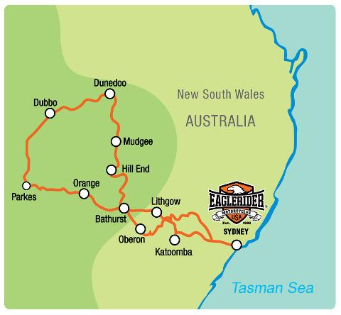 New South Wales Country Escape - Self Drive Motorcycle Tour (SYD)