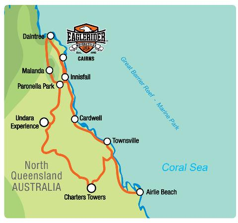 Far North Queensland Discovery Tour - Guided Motorcycle Tour