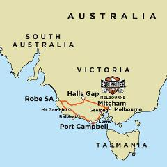 Great Ocean Road - Grampians Adventure - Guided Motorcycle Tour (MEL)