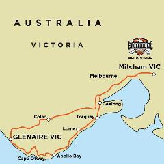 Great Ocean Road Escape - Self Drive Motorcycle Tour (MEL)