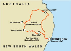 Hill End Overnighter - Self Drive Motorcycle Tour (SYD)