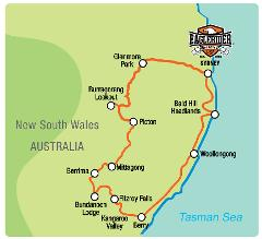 Kangaroo Valley Overnighter - Self Drive Motorcycle Tour (SYD)