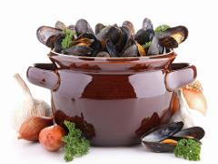"Fabulous French Cuisine ""Red Menu"":"