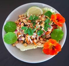 Vegan & Vegetarian Thai Cooking: Curry Puffs, Larb & Noodles