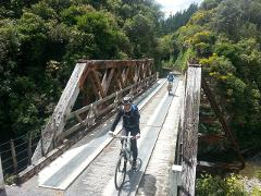 Mountains to the Sea Rail and River Trail Cycle Tour ex Wellington - Unguided