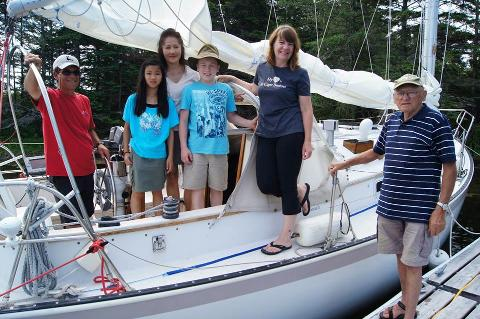 Half day Group sailing charter