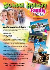 Family School Holiday Lake Cruise - Round Trip