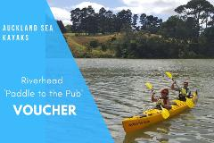 Gift voucher - Riverhead 'Paddle to the Pub'