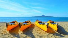 Day Sea Kayak tour to Rangitoto Island