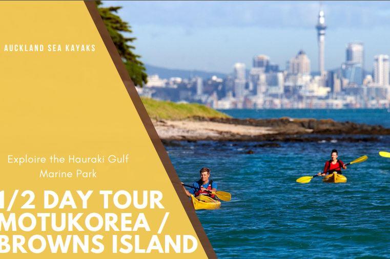 Gift voucher - 1/2 Day Tour to Motukorea / Browns island