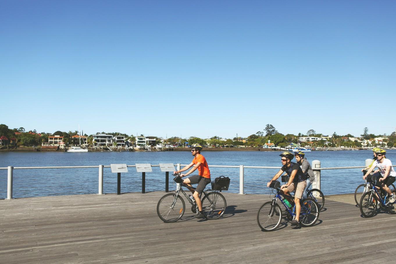 Brisbane By Bicycle Morning Tour