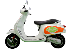 Vespa 50cc Sport  - GPS Experience
