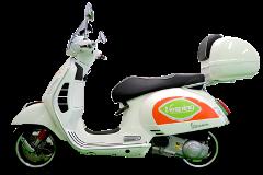 Vespa 300cc - GPS Experience