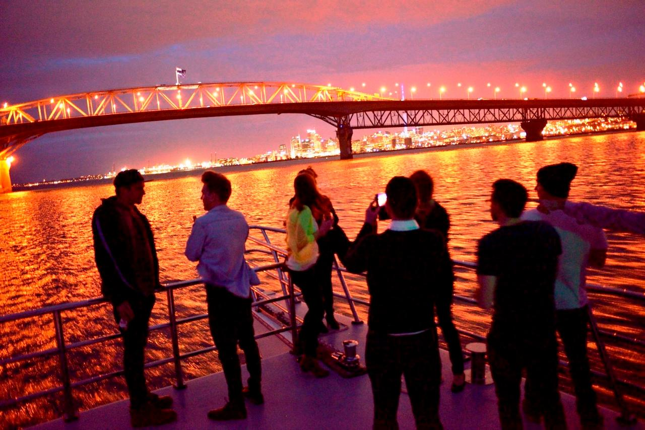 Harbour Sightseeing Cruise - Evening - Private Charter
