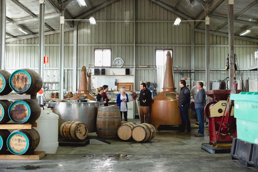 Lark Distillery + Overeem Distillery Tour: Tasmanian Whisky Week