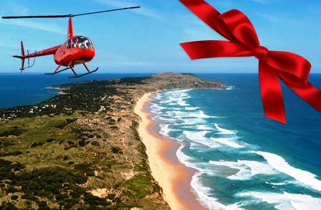 Gift Voucher-Flight 3 Seal Rocks, Penguins & The GP Circuit (For 3 passengers)