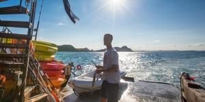 The Rock B & B Adventure Cruise - Private Family Cabin