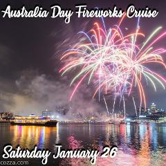 Australia Day Fireworks Cruise