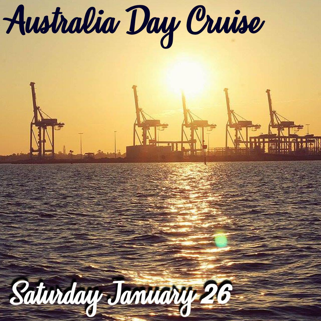 Australia Day Scenic Sightseeing Cruise