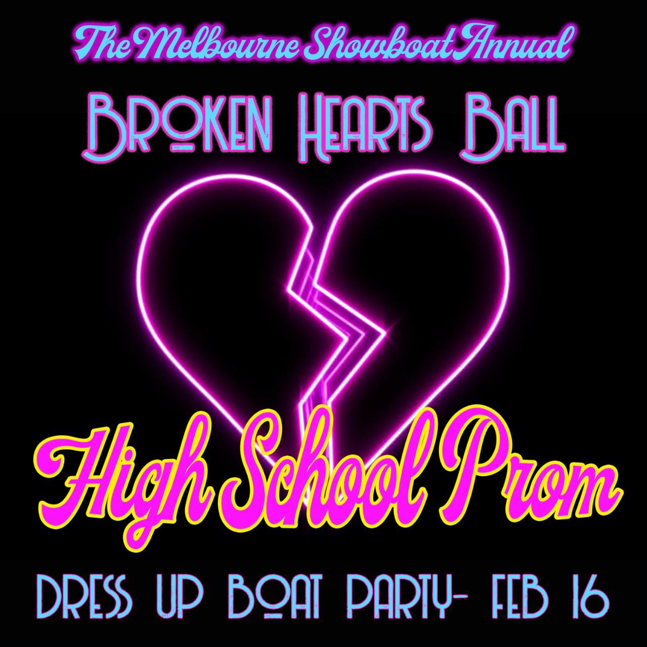 The Annual Broken Hearts Ball - High School Prom Theme