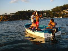 16ft Open Boat Hire
