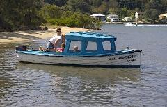 16ft Half Cabin Boat Hire