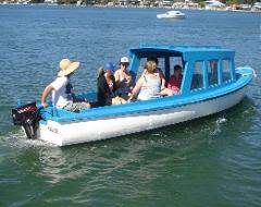 18ft Half Cabin Boat
