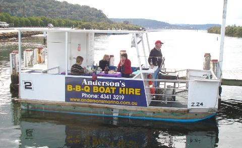 BBQ Boat Hire Half Day (4 Hrs)
