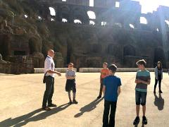 Colosseum Gladiator Special with Hotel pick-up: Visit the Hypogeum - Climb the Third Tier - Walk the Arena