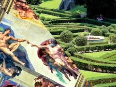 Vatican First-Class: Private Secluded Gardens and Sistine Chapel Tour