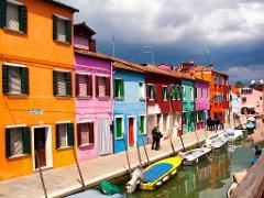 Private Murano and Burano Boat Tour