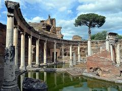 Private Tivoli and Villa Adriana Tour with Driver Service from/to Rome