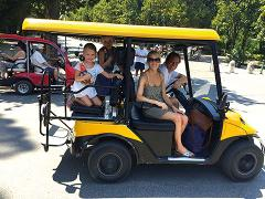 Private Rome Golf Cart Tour