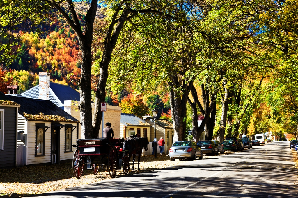 Remarkable Tour de Arrowtown: A Remarkable Scenic Tours and Arrowtown Bike Hire Combo