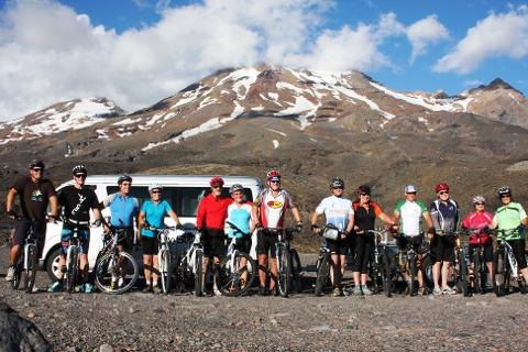 Mountains to Sea Cycle Trail  - Deposit only