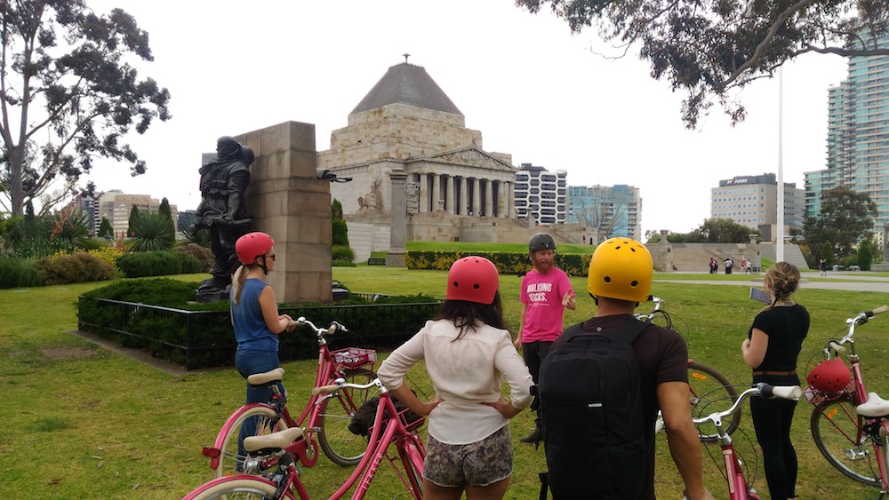 Classic Melbourne City Bike Tour