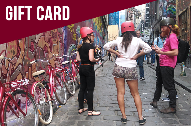Classic Melbourne City Bike Tour - Gift Card