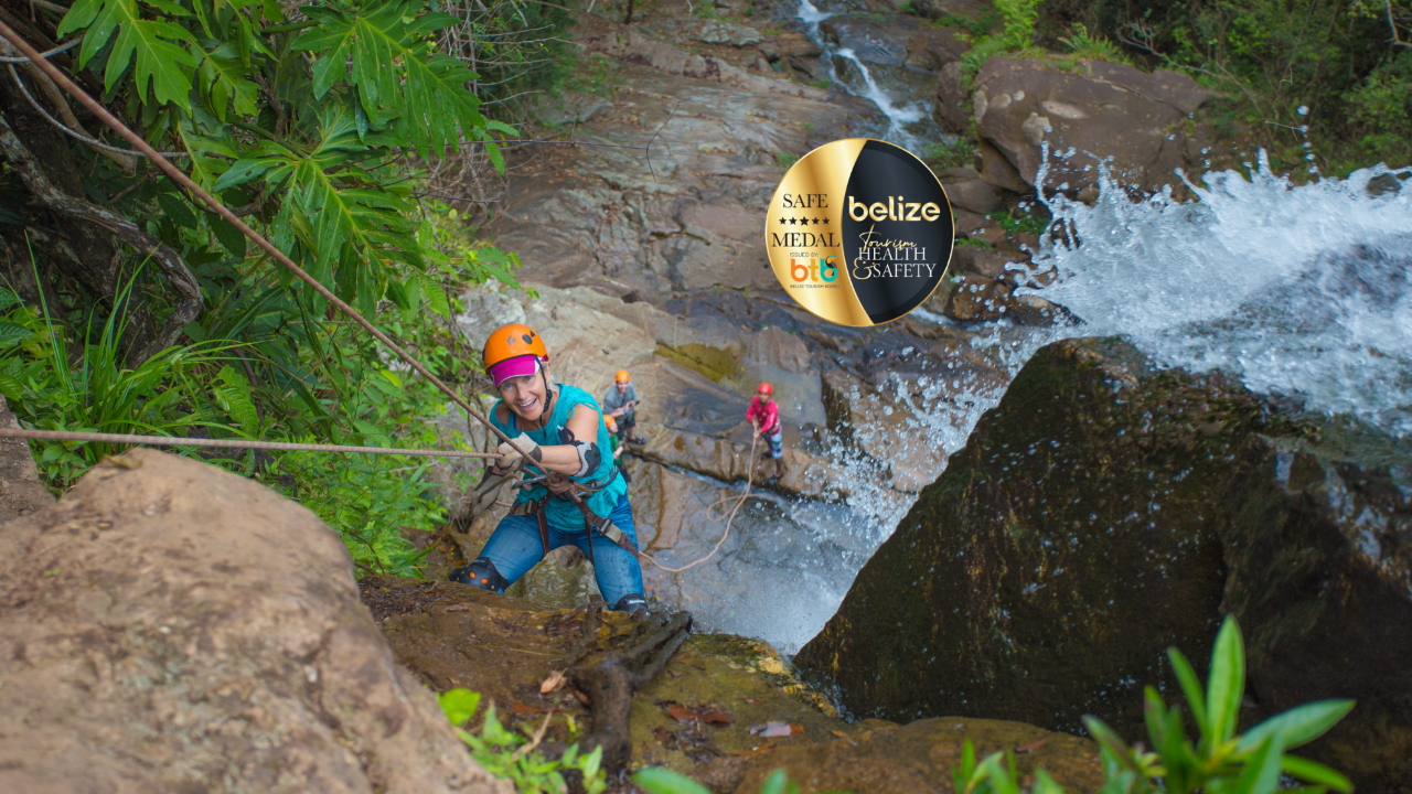 RAPPELLING – ANTELOPE FALLS - 1/2 DAY