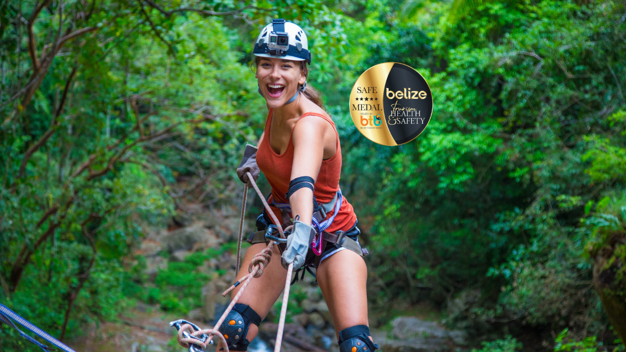 BOCAWINA PACKAGE – (Zipline and Bocawina Waterfall Rappel) - 1/2 DAY