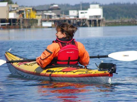 Ucluelet Harbour Kayaking Tour