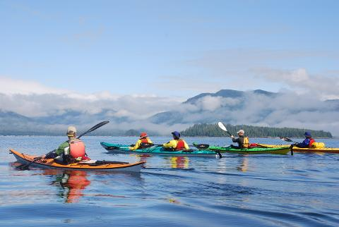 Broken Group Islands, 4 Day Kayaking & Camping