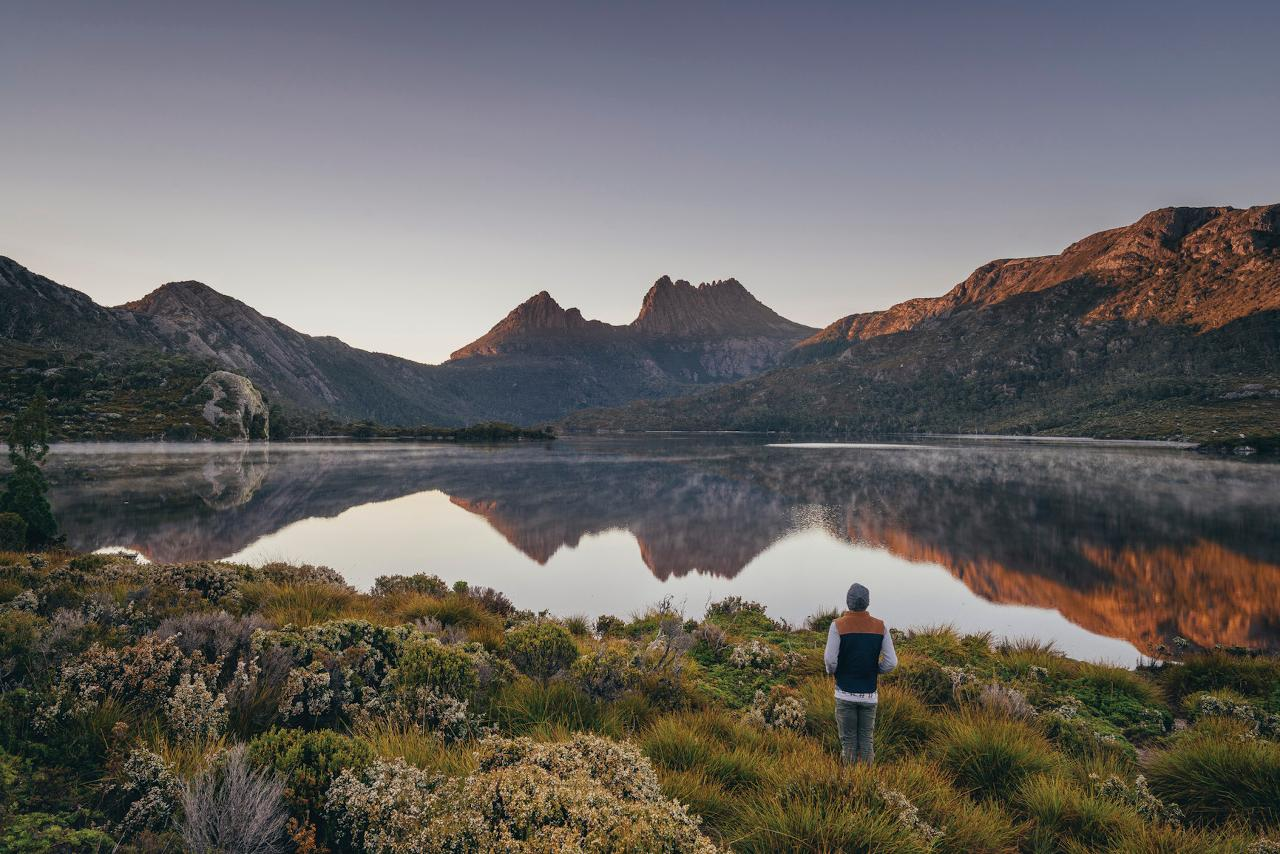 Cradle Mountain in a day from Hobart