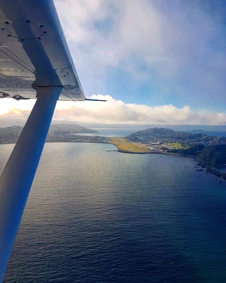 Kaikoura to Wellington Flight - one way