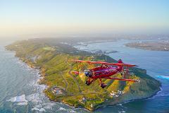 Sunset Biplane Coast and Bay Tour