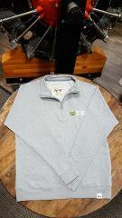 Northwest Seaplanes Fleece Quarter Zip sweatshirt Gray