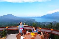 Breakfast with a View at The Lookout @Lakeview, Mount Batur