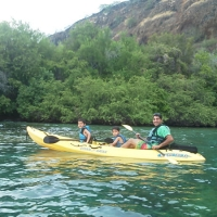 Permitted No Time Limit Triple Kayak Rental