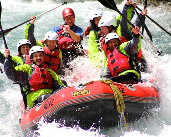 Combo- Rapids Jet + Rafting New Zealand