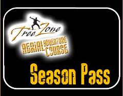 TreeZone Season Pass - Adult